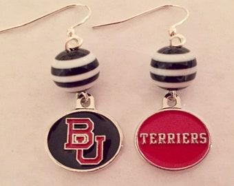 Boston University Terriers Earrings