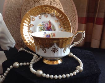 Paragon Cabinet Cup And Saucer .