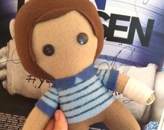 Dear Evan Hansen Musical Fleece Plush Doll
