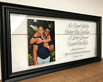 Wedding Gifts for Parents, Parents of the Bride Gift, Mother of the Groom, Parents Gift Wedding, Mother of the Groom Gift, Solomon Verse