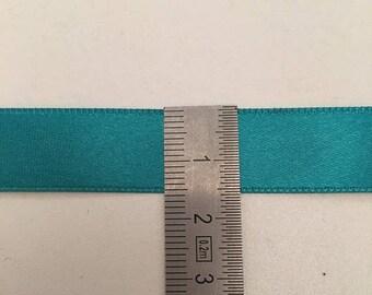 Green Polyester 15mm Satin Ribbon