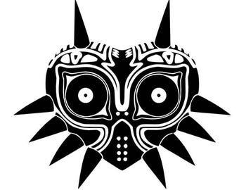 Majora's Mask / Legend of Zelda Inspired Decal Sticker / Skull Kid / Outdoor Vinyl / Custom Colors