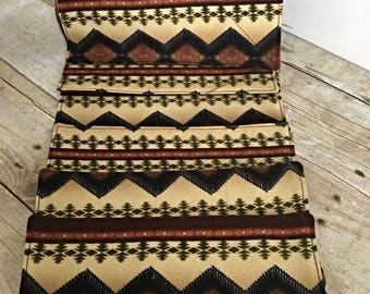 Reusable UnPaper Towels - set of 12- Brown Southwest/Slightly Imperfect