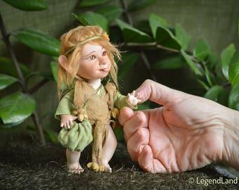 Mini Elf doll Valentines Day Gift For Her forest elf figure elf figurines porcelain doll elf decorations art dolls handmade LIMITED EDITION