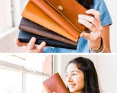 Full Grain Leather Rancher Wallet, Phone Wallet – Portland Leather Goods