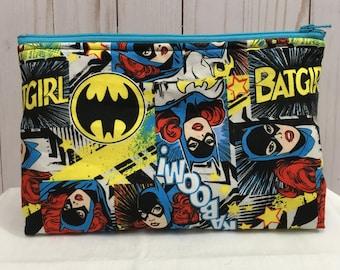Batgirl Cosmetic Bag