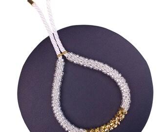 Bright White Bracelet made with Swarovski® Crystals