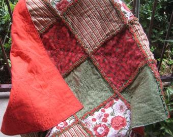 Beautiful Rag Quilt