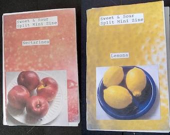 Sweet & Sour: Split Mini Zine