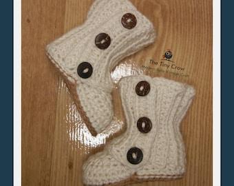 BabyUggs, Baby Winter Boots, Crochet Baby Booties, Two Girls Patterns, Crochet Baby Girl, Baby Gift, Baby Shower, Trendy Baby,Baby Wrap Boot