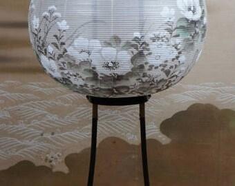 Antique Chochin Japanese foldable portable lantern 1890's lamp Japan