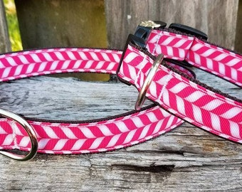 ON SALE-->Pink Candy cane ribbon
