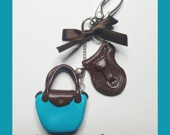 """Keychain """"Longchamps bag"""""""