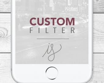 Custom Snapchat Filter/Geofilter for a party, birthday, graduation, bridal shower, wedding, and other events made to order and personal