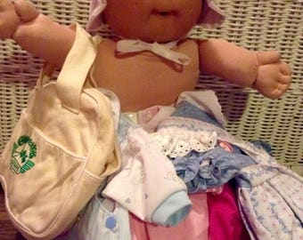 Cabbage Patch Kid with a Wardrobe !