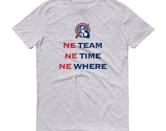 Men's 'NE Team, NE Time, NE Where' Patriots T-Shirt