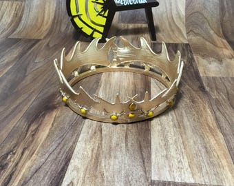 Robert Baratheon cosplay replica 3D print crown - Game of thrones prop 1:1 scale. FREE DELIVERY