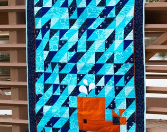 Whale of a Tail Quilt Pattern