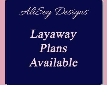 Layaway Plan - Payment plan Option