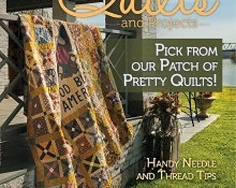 Fall 2017 issue of Primitive Quilts and Projects Magazine