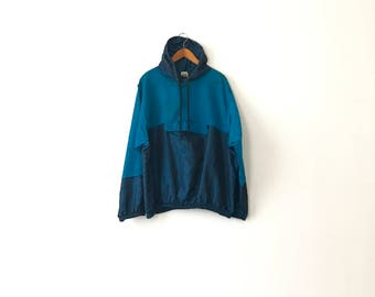Iridescent 80s Windbreaker Jacket - One Size