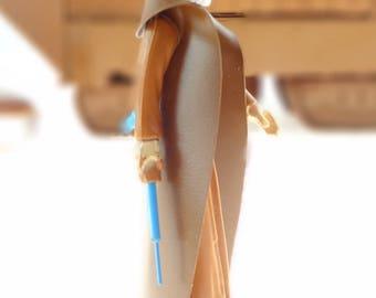 Obi-Wan Kenobi Star Wars Action Figure With Cape And Nice Lightsaber