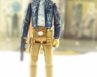 Han Solo In Bespin Outfit Vintage Action Figure 1980 Star Wars The Empire Strikes Back