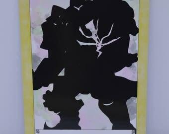 "Reinhardt Tarot Card print 4x6"""
