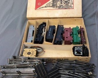 Marx Steam Type Electric Train Set 4250 with Original Box and Track