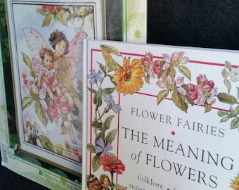 Stitchery Kit and Book, FLOWER FAIRIES, Cross Stitch Kit by Cicely Mary Barker, The Meaning of Flowers, Cicely Mary Barker & Frederick Warne