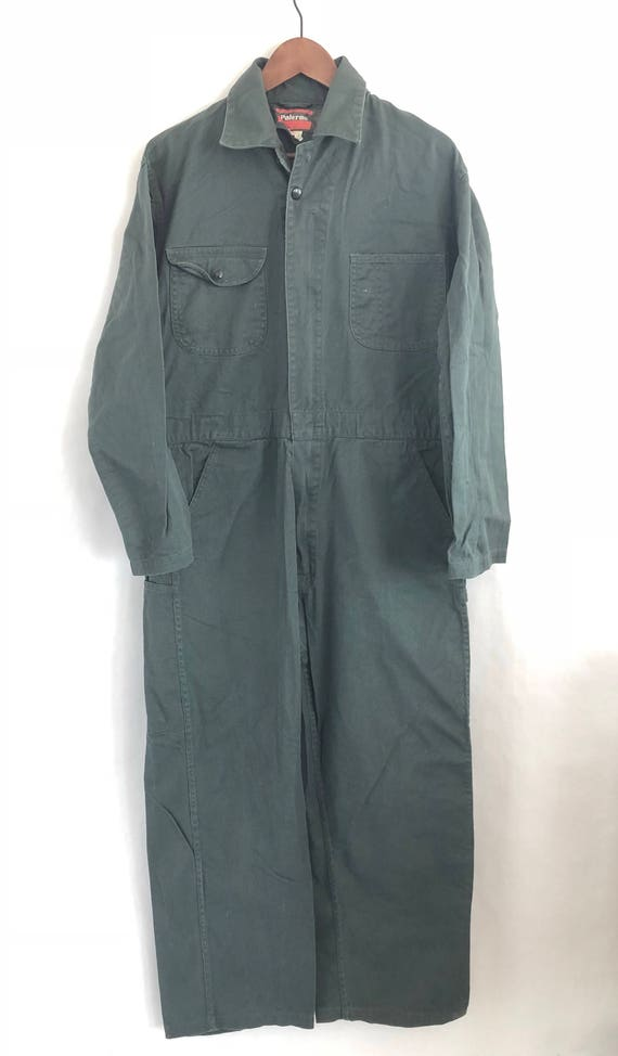 Dark Green Coveralls