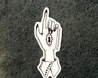 The Lock - Vinyl Die Cut Sticker
