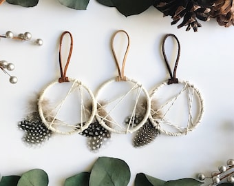 Modern Dream Catcher, Boho Wedding Favors, Modern Rustic Decor, Small Dreamcatcher, Bohemian Party Favors, Modern Boho Wedding Shower Favors