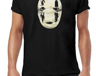 No Face Spirited Away T-Shirt - Studio Ghibli Pop Cultre Fan Art Unisex T Shirt