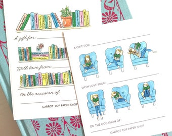 Bookplates- Gift giving - Set of 8