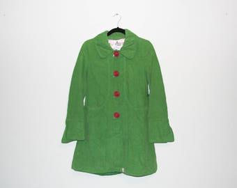 VINTAGE 60's Green Groovy Jacket