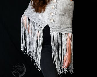 New and sophisticated scarf silver