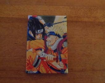 Naruto and Sasuke Magnet