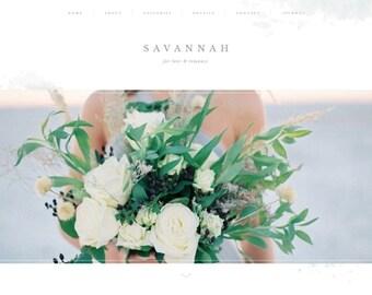 Website design, website template, Wordpress template, Showit 5, Showit, Showit 5 website design, website — SAVANNAH