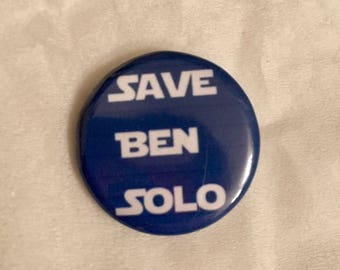 Ben Solo Inspired 1 Inch Button!
