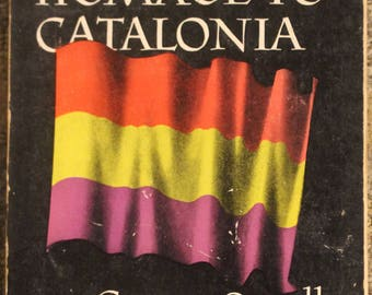 Homage to Catalonia | George Orwell (1955, First Beacon Paperback Edition, Second Printing)