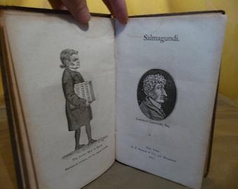 Antique Salmagundi by G. P. Putnam, Book Printed in 1857