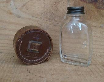 Vintage Zeiss Ikon 1110 A 28.5 Metal Camera Lens Hood With Leather Case - Vintage Zeiss - Vintage Ikon - Vintage Germany - Free Shipping