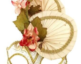 Cherry Blossom Masquerade Mask - U139