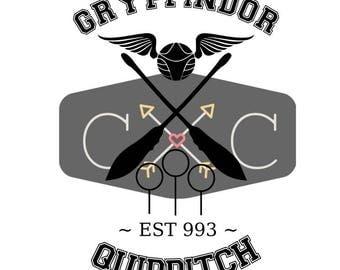 Gryffindor Quidditch svg cut file