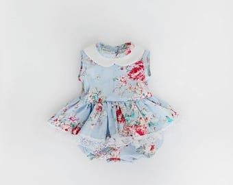Baby girl outfit, baby girl romper, baby girl clothes, girl clothes, toddler girl clothes, baby romper, baby gift, girl playsuit