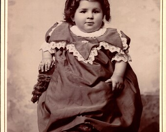 antique cabinet photograph indiana child