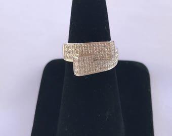 Beautiful 18k White Gold Diamond Ring