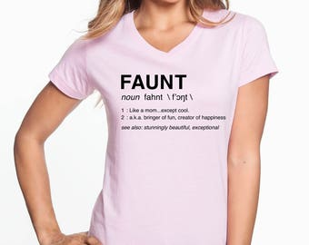 Faunt Vneck T-shirt