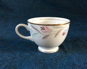 Vintage Eggshell Nautilus Nantucket Coffee Cup, Homer Laughlin